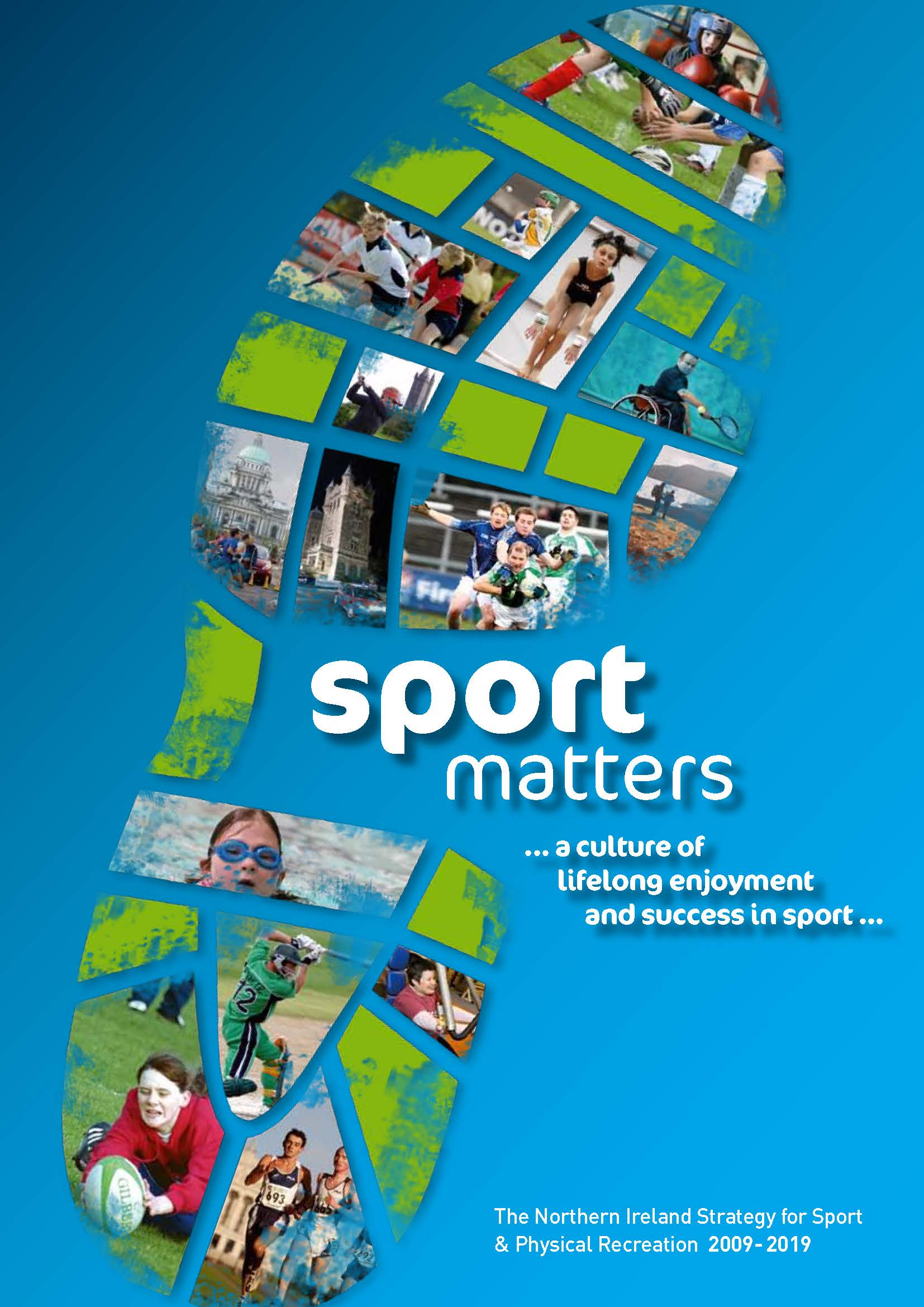 Cover of Sport Matters: The Northern Ireland Strategy for Sport and Physical Recreation, 2009-2019